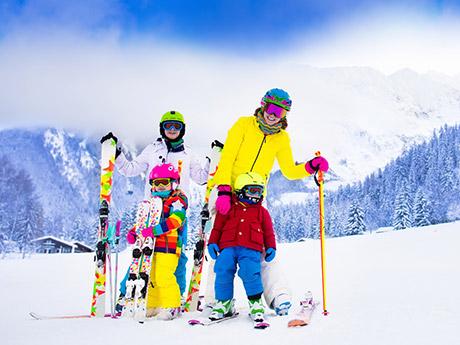 子どもを連れて思い切り楽しめる! 上越国際スキー場