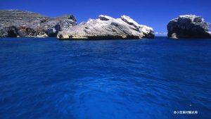 南島周辺の海
