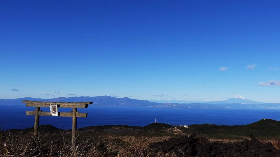 伊豆大島 三原山