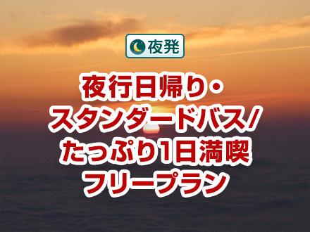 【関西発】夜行日帰り☆吉田口(河口湖口)ルート/専任ガイドなし
