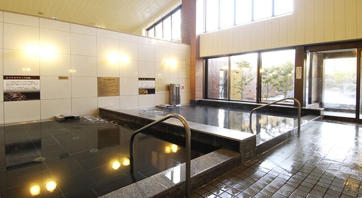 富士山 溶岩の湯 泉水