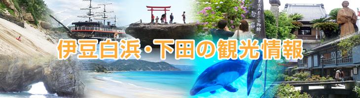 伊豆白浜・下田の観光情報