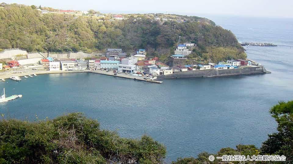 伊豆大島 波浮港見晴台