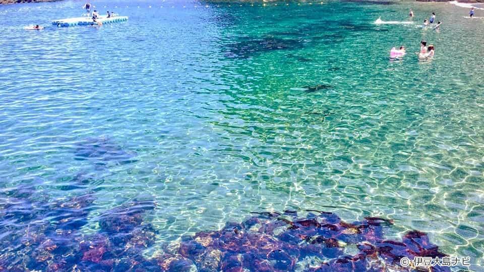 伊豆大島 日の出浜