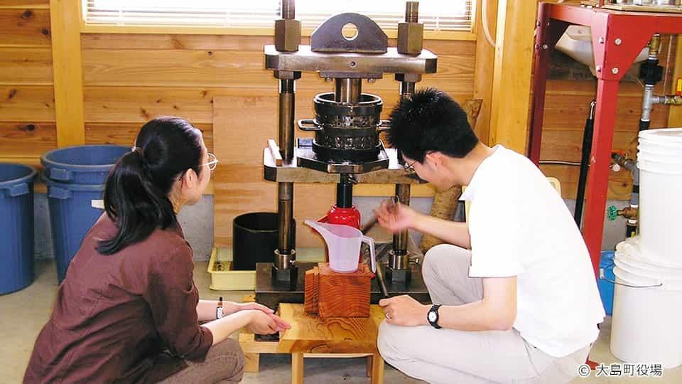 伊豆大島 大島ふるさと体験館