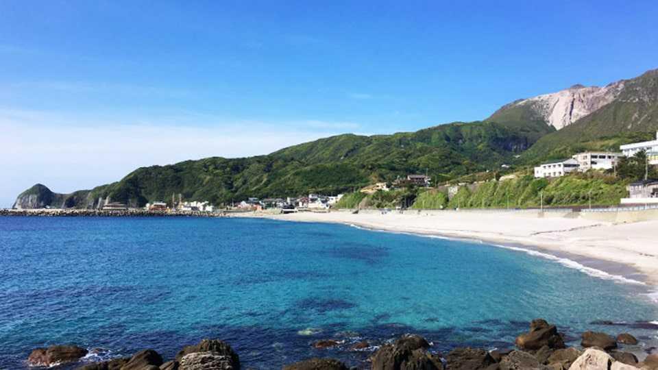 【神津島】前浜海水浴場