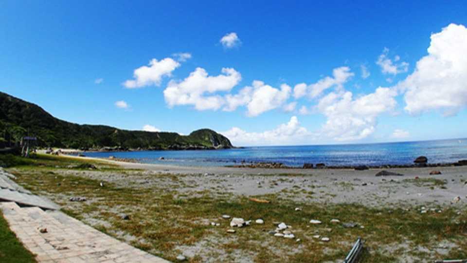 神津島 長浜海水浴場