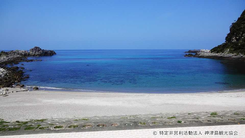 神津島 沢尻海水浴場