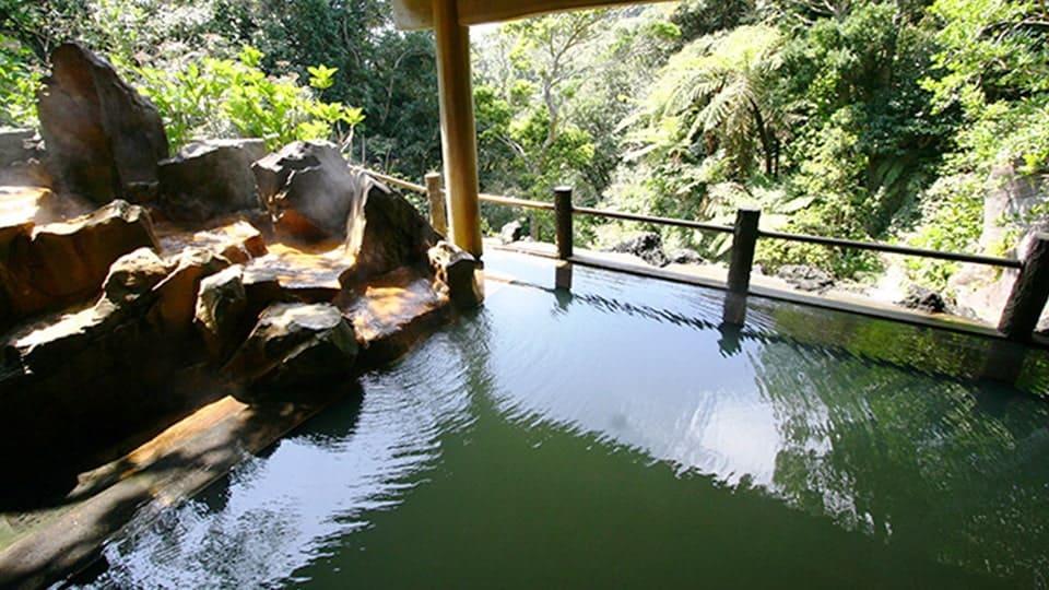 八丈島 裏見ヶ滝温泉
