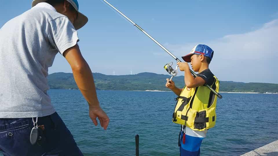 のんびり海釣り