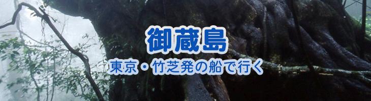 御蔵島へ 東京・竹芝発の船で行く