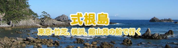 式根島へ 東京・竹芝、横浜発の船で行く