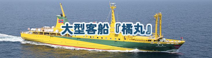 大型客船『橘丸』(三宅・御蔵・八丈島航路)