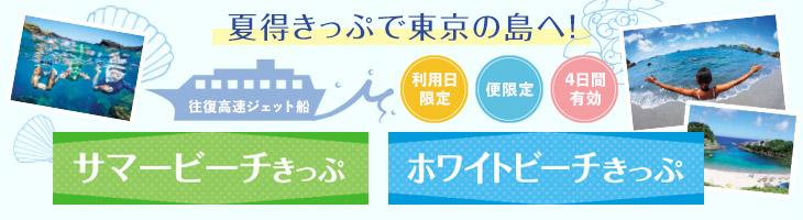 ホワイトビーチきっぷ/サマービーチきっぷ