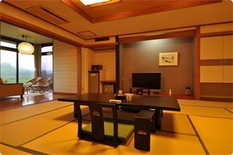 往復午後発高速船利用!【三原山一望特別室】大島温泉ホテル