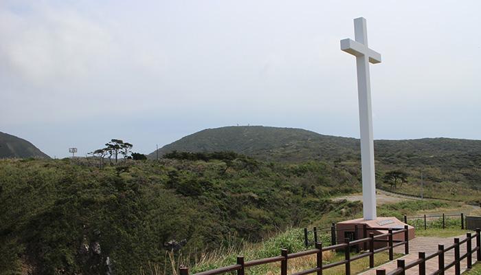 【神津島】ありま展望台/ジュリアの十字架