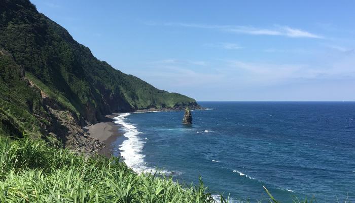 【伊豆大島】筆島
