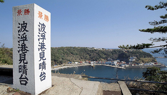 【伊豆大島】波浮港見晴台