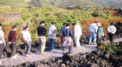 【三宅島】火山体験遊歩道