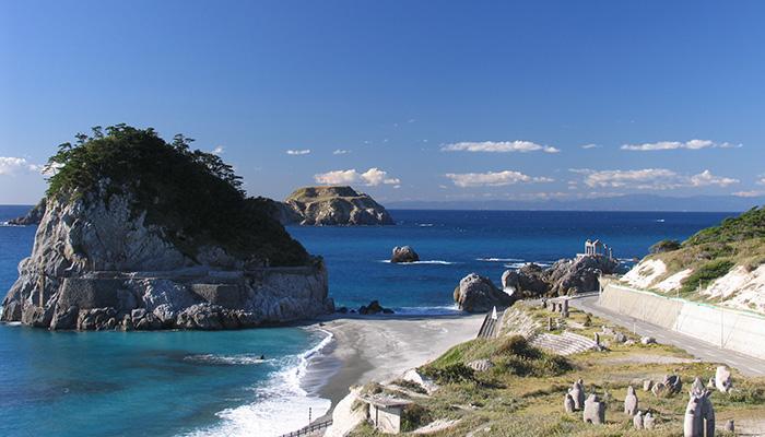 【新島】間々下海岸