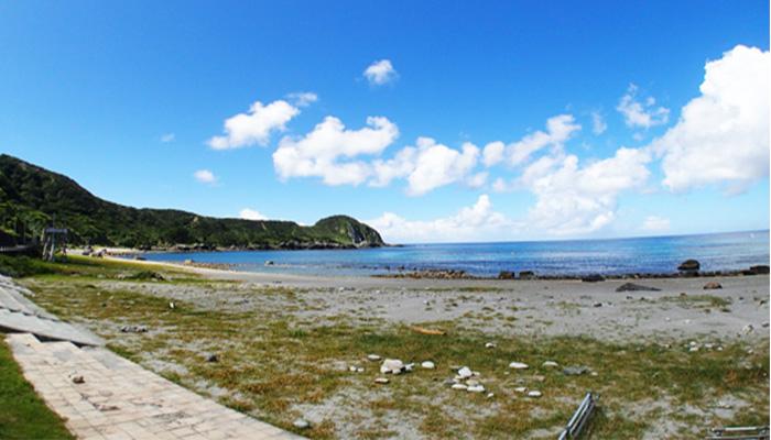 【神津島】長浜海水浴場