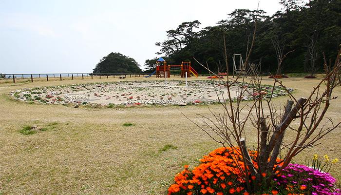 【式根島】小の口公園