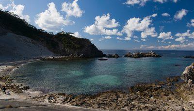 【式根島】大浦海水浴場