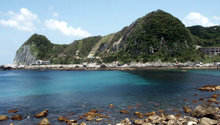 【神津島】沢尻海水浴場