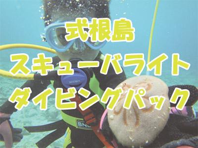 式根島スキューバライト(旧スヌーバ)ダイビングパック