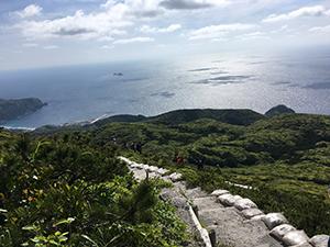 神津島☆天上山レンタル付トレッキングパック