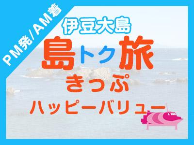 《PM発/AM着》往復JET船☆伊豆大島ハッピーバリュー