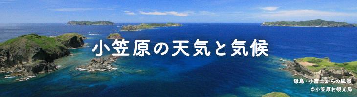 小笠原の天気と気候