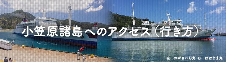 小笠原諸島へのアクセス(行き方)