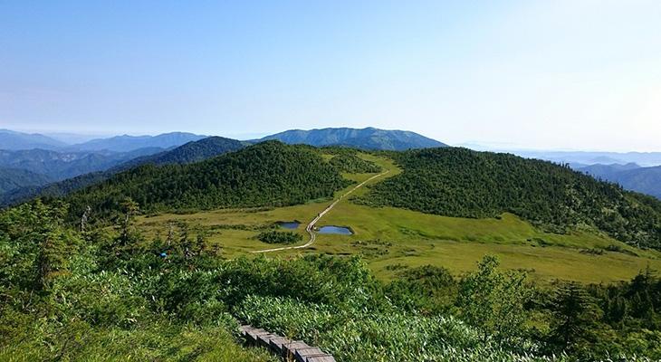 燧ヶ岳(ひうちがたけ) 熊沢田白