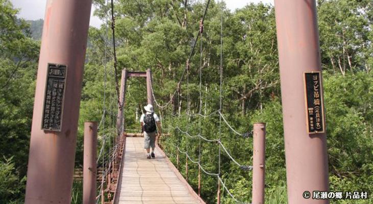 ヨッピ吊橋
