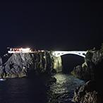 尖閣湾揚島ライトアップ