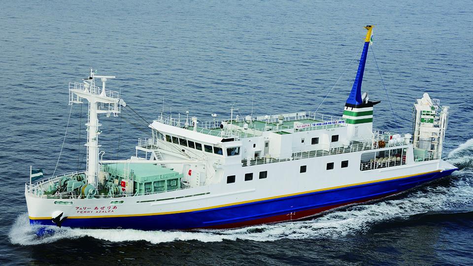 下田港 → 利島(往路客船・復路選択可能)