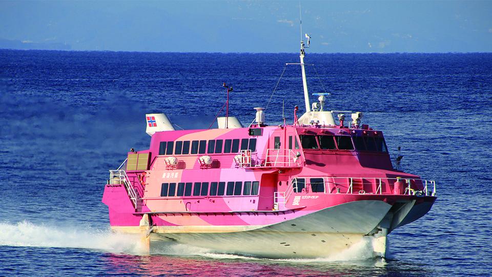 高速ジェット船セブンアイランド