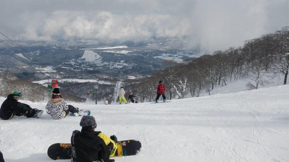 スキーツアー ダイナランド